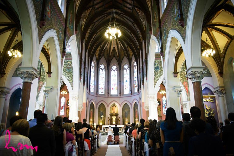 st. pauls london ontario wedding ceremony