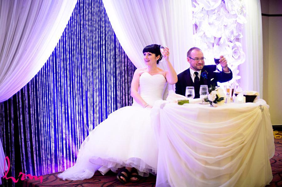 Colleen and Brad's wedding photos, taken in London Ontario