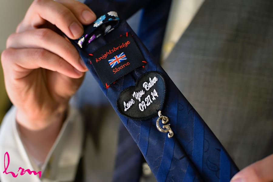 Tie as wedding gift  London ON Wedding HRM Photography