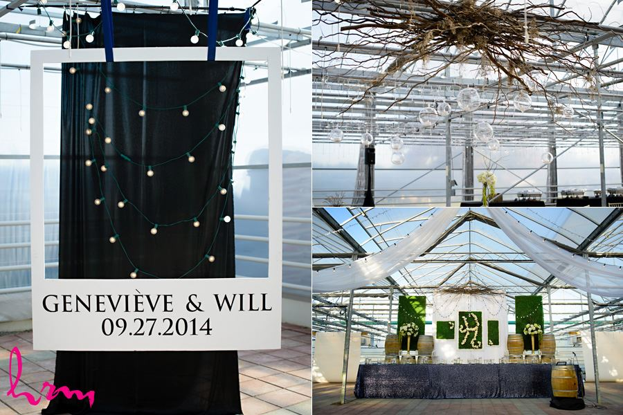 Décor in Heeman Greenhouses London ON Wedding Photography