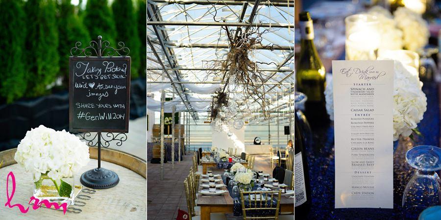 Menu at Heeman Greenhouses London ON Wedding Photography
