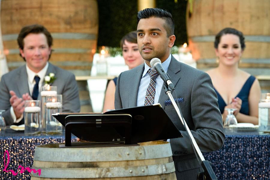 Speeches at Heeman Greenhouses London ON Wedding HRM Photography