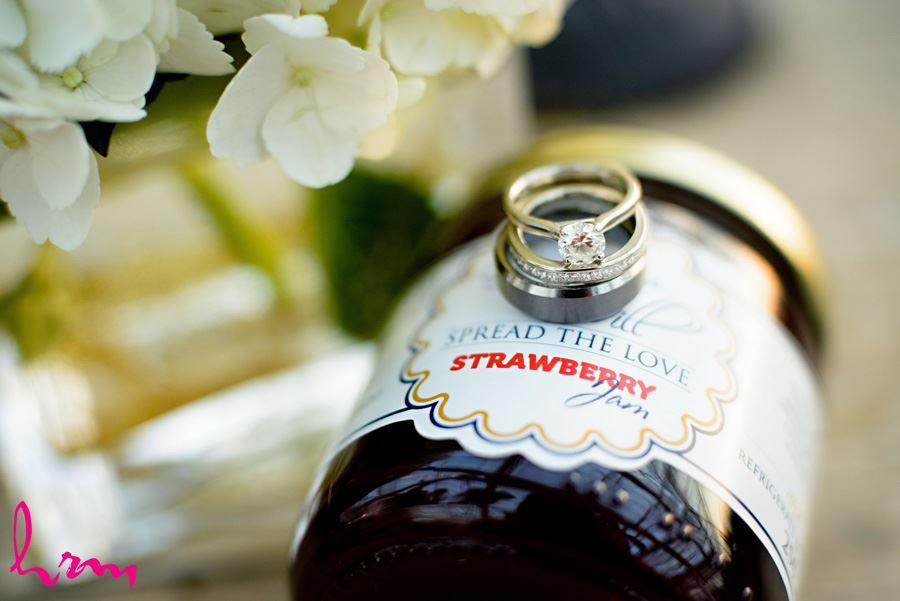 Wedding rings Heeman Greenhouses London ON Wedding Photography