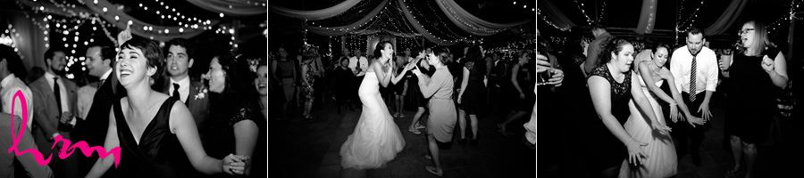 Dancing with guests Heeman Greenhouses London ON Wedding HRM Photography