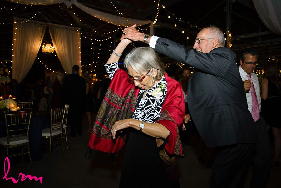 Guests dancing Heeman Greenhouses London ON Wedding HRM Photography
