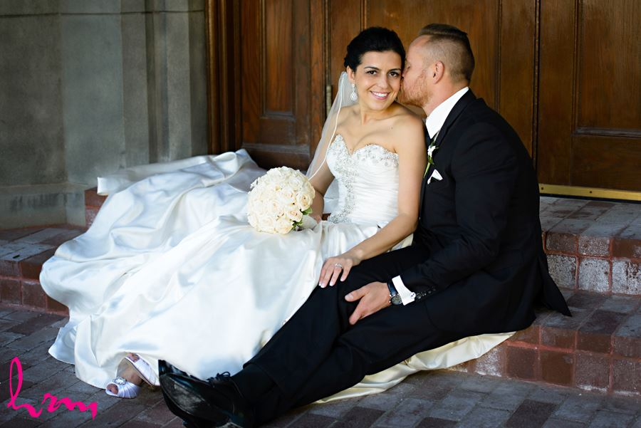 Ginny and Damien's Wedding Photos, shot in London Ontario