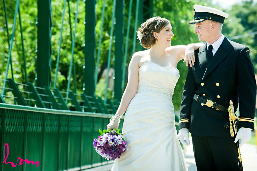 An Outdoor Wedding Ceremony At London S Hunt Club: HRM Photography