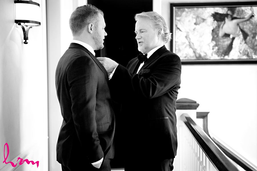 Maia + Matthew's wedding photographs taken in London Ontario, April 2015