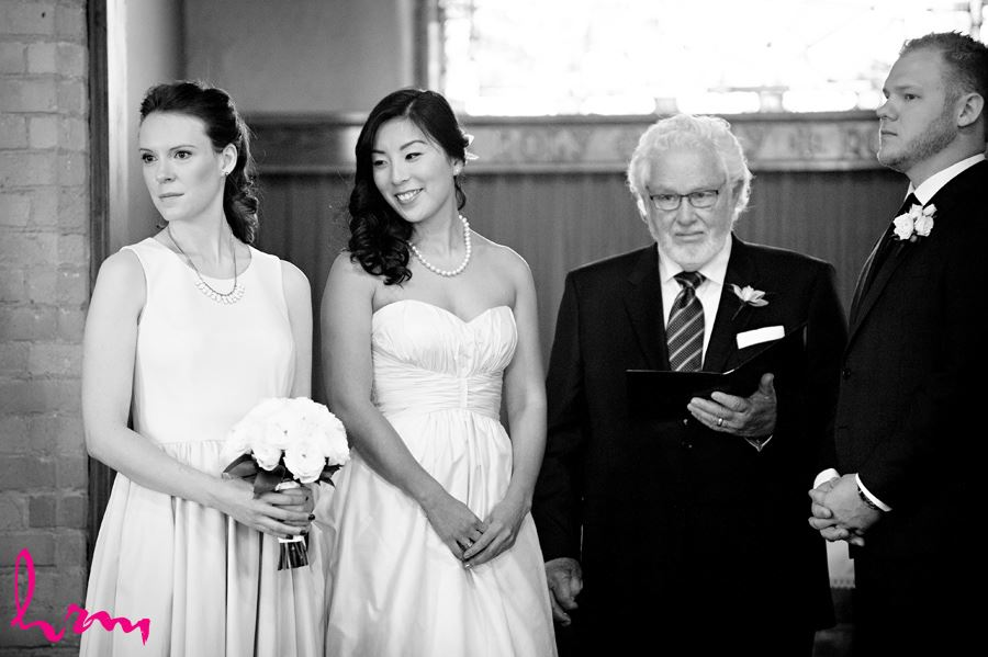 Maia and Matthew's wedding photographs taken in London Ontario, April 2015