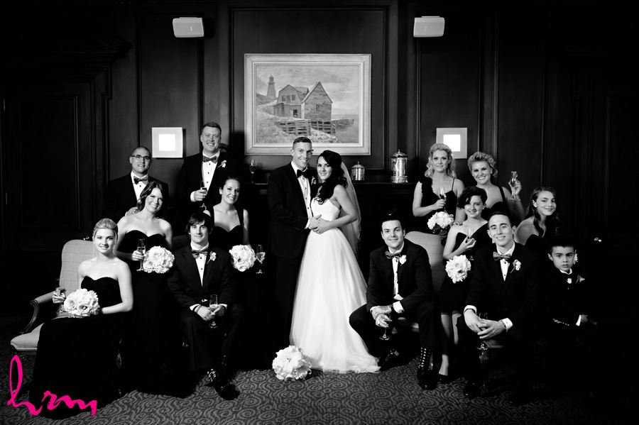 london club wedding photography