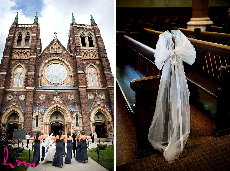 st peters basilica cathedral london ontario wedding