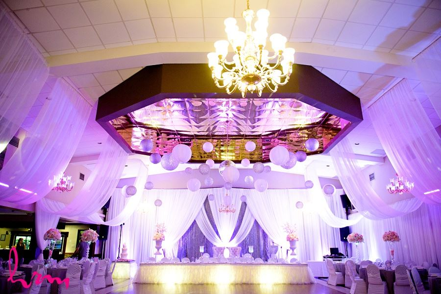 portuguese club of london wedding reception decor