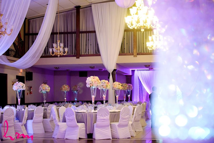 beautiful wedding reception decor london ontario portuguese club