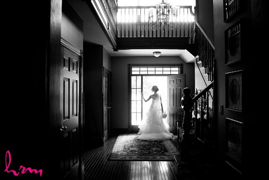 Sabrina in black and white London ON Wedding Photography