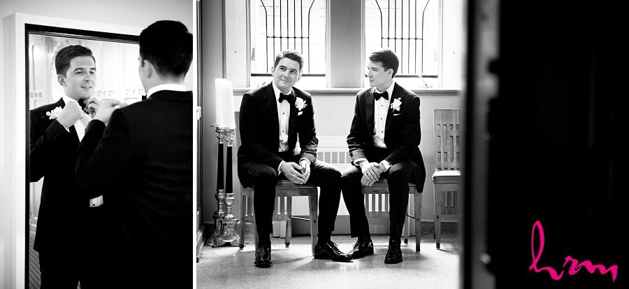Winston in black and white London ON Wedding Photography