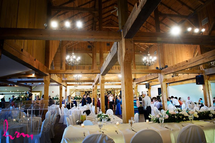Guests in Bellamere Winery Event Centre London ON Wedding Photography