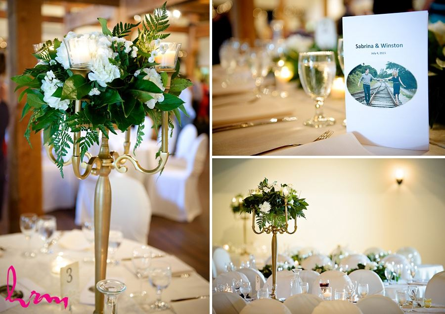 Décor in Bellamere Winery Event Centre London ON Wedding Photography