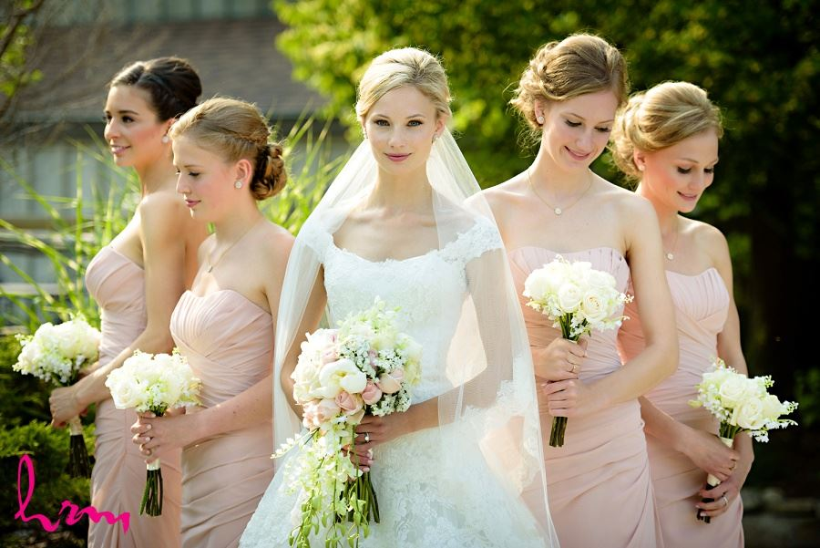 Bridal party at Bellamere Winery Event Centre London ON Wedding Photography