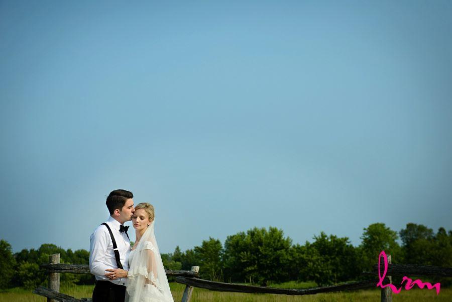 Sabrina + Winston blue skies Bellamere Winery Event Centre London ON Wedding Photography