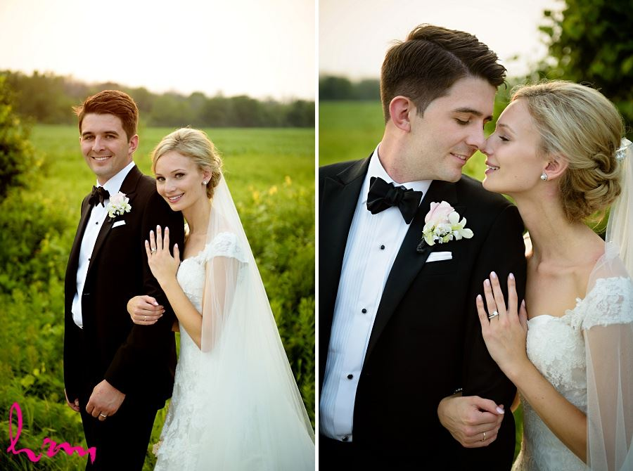 Sabrina + Winston pink skies Bellamere Winery Event Centre London ON Wedding HRM Photography