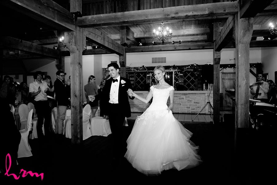 Black and White Sabrina + Winston in Bellamere Winery Event Centre London ON Wedding Photography