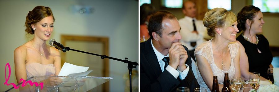 Speeches at Bellamere Winery Event Centre London ON Wedding Photography