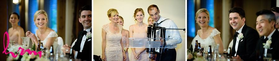 Singing to Sabrina and Winston at Bellamere Winery Event Centre London ON Wedding Photography