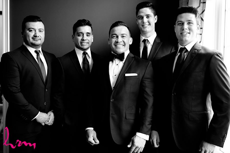 Jose and groomsmen London ON Wedding Photography