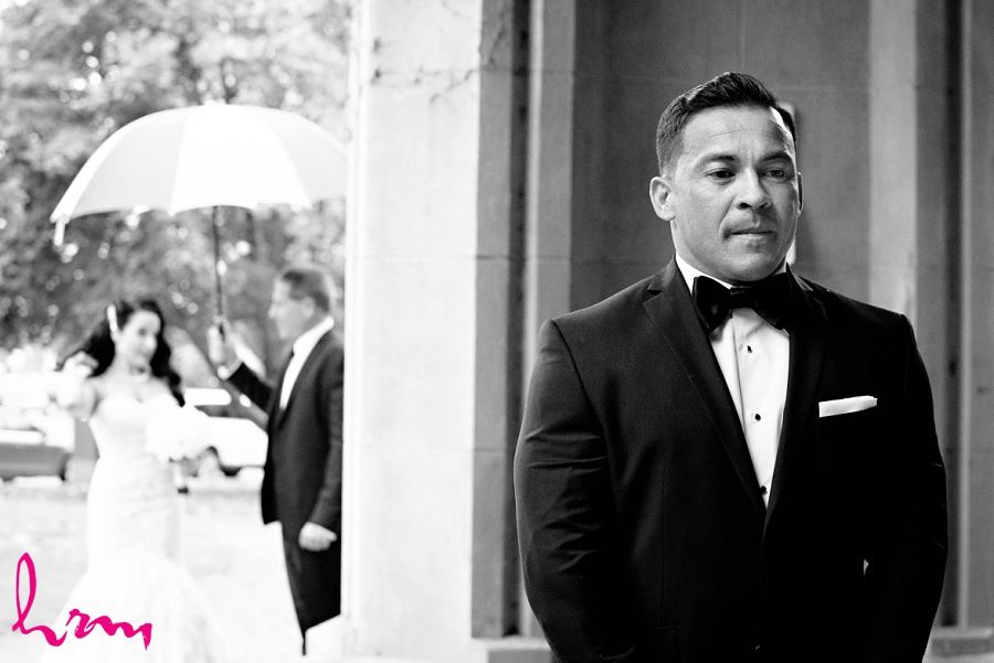 Jose waiting for Lauren London ON Wedding Photography