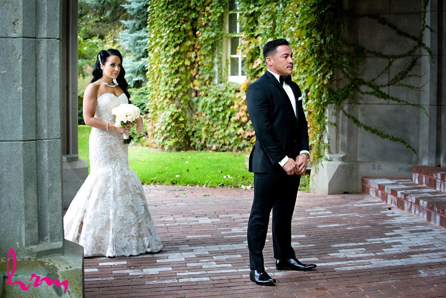 Jose waiting for Lauren London ON Wedding HRM Photography