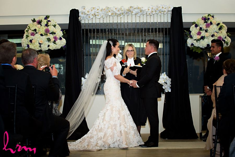 Lauren and Jose saying vows at Museum London London ON Wedding Photography