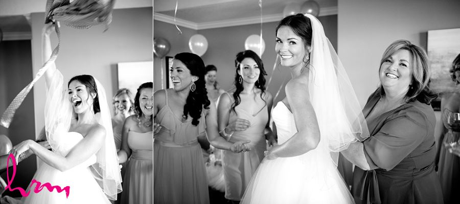 Leigh and bridesmaids before wedding London ON Wedding Photography