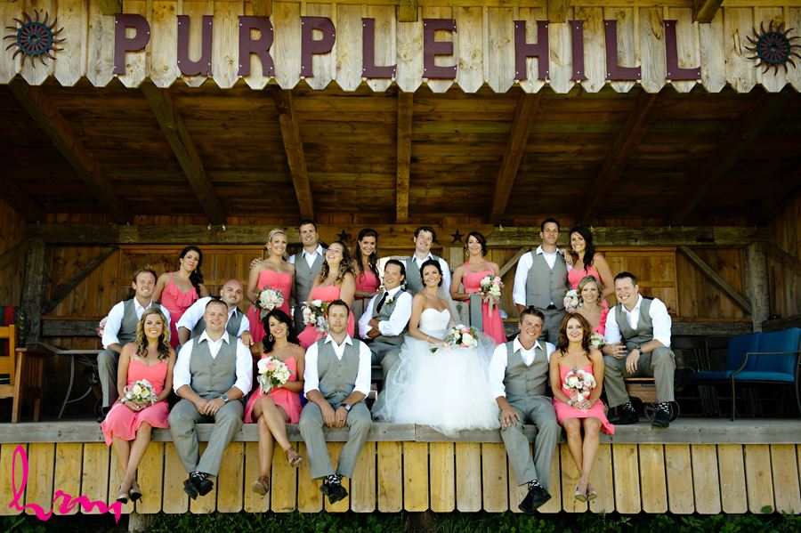 Bridal party at Purple Hill Country Farms London ON Wedding HRM Photography