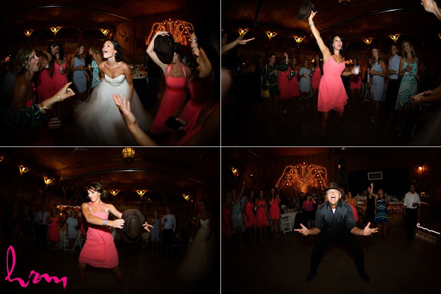 Dancing with guests Purple Hill Country Farms London ON Wedding Photography