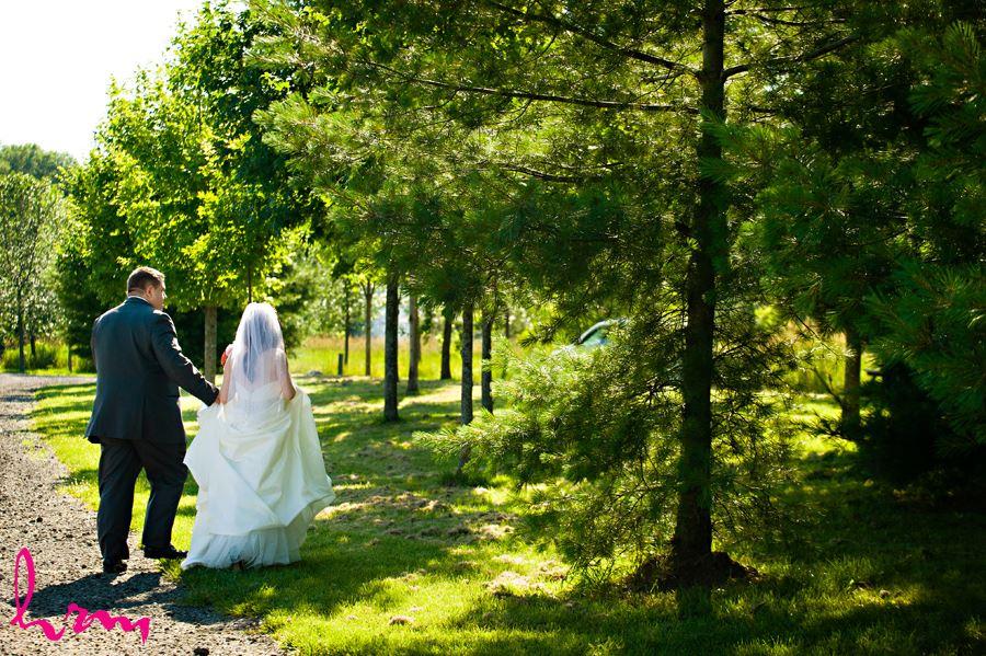 Scarborough hill wedding