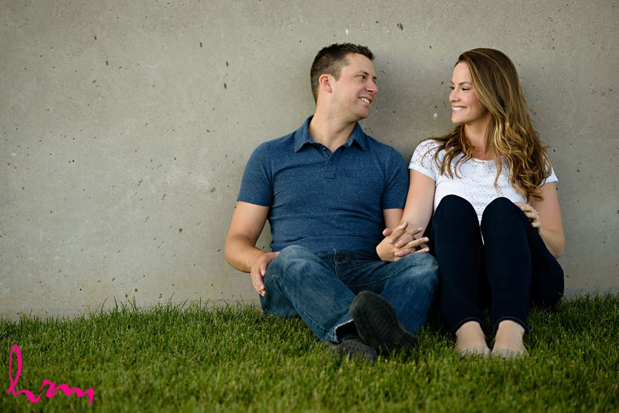 Dorothy and Corey's engagement photos, taken in Sarnia Ontario