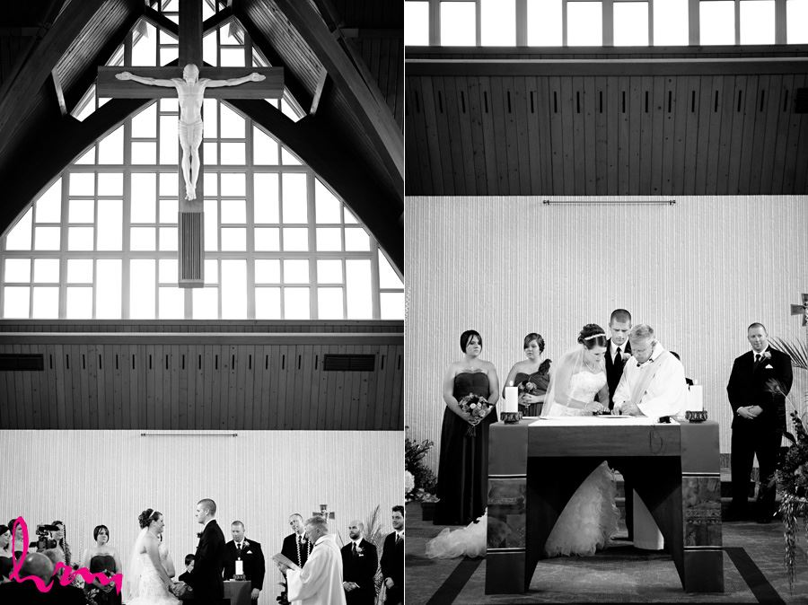 Rachel and Dan's wedding photo shoot in Sarnia Ontario, May 2015