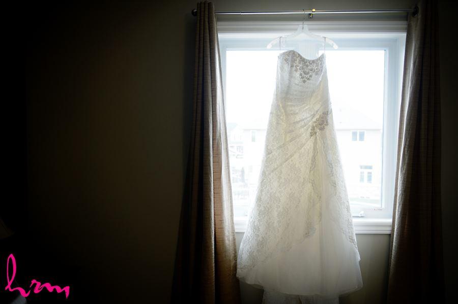 The dress before wedding St. Thomas ON Wedding HRM Photography