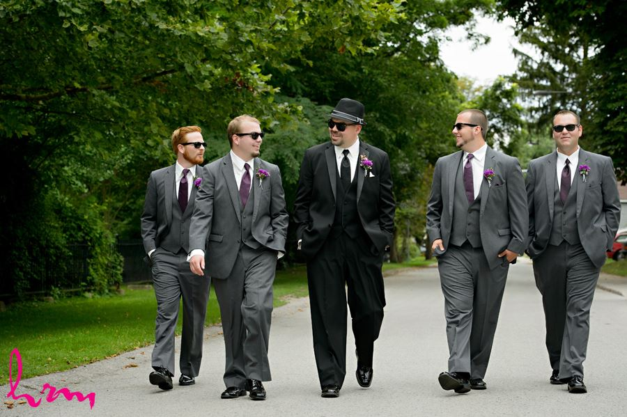 Will and groomsmen before wedding St. Thomas ON Wedding HRM Photography