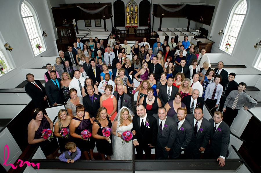 Guests at The Old St. Thomas Church St. Thomas ON Wedding Photography