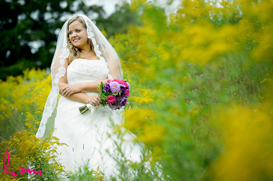 Mallory in field St. Thomas ON Wedding Photography
