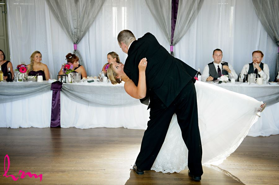 Mallory + Will first dance CASO Railway Station St. Thomas ON Wedding Photography