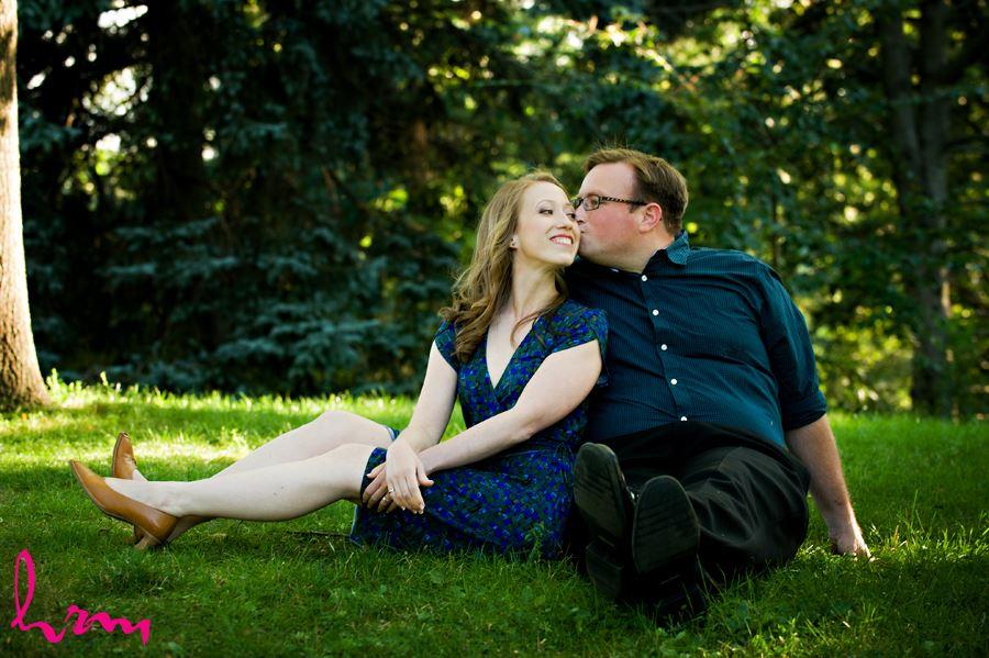 Engagement shoot at High Park Toronto Ontario