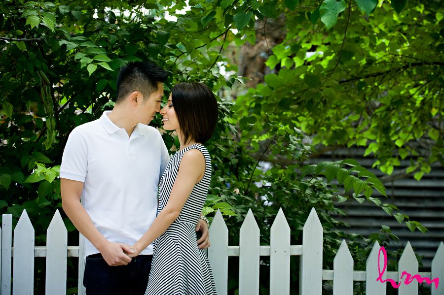 Engagement photography in toronto by picket fence
