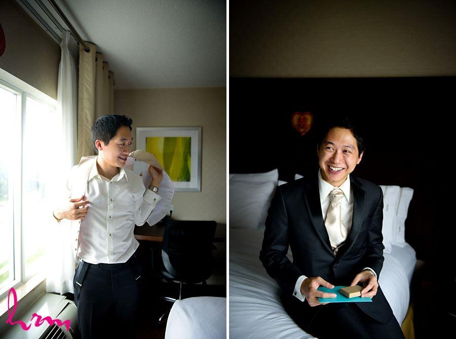 Michael before wedding Toronto ON Wedding Photography