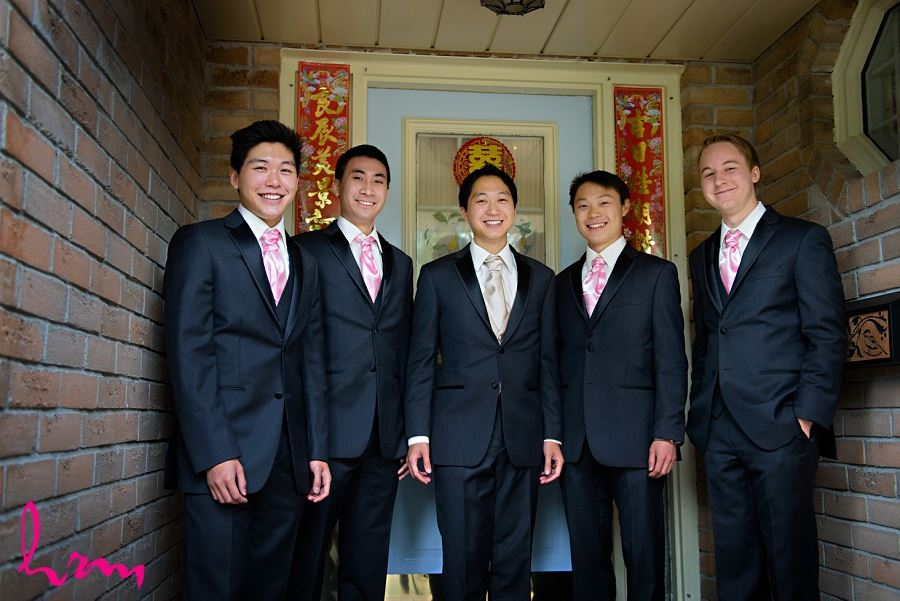 Michael and groomsmen Toronto ON Wedding Photography