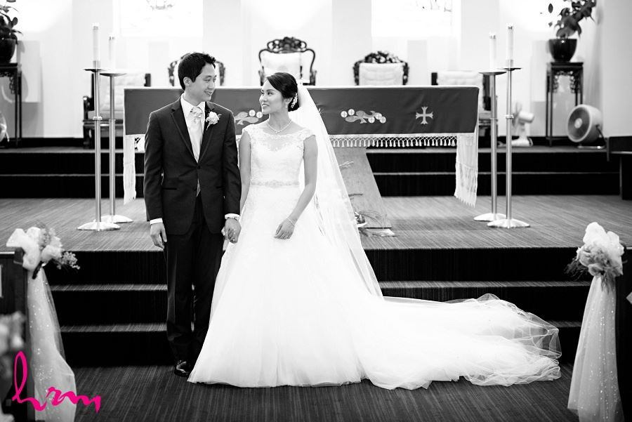 Natalie + Michael Chinese Martyrs Catholic Church Toronto ON Wedding Photography