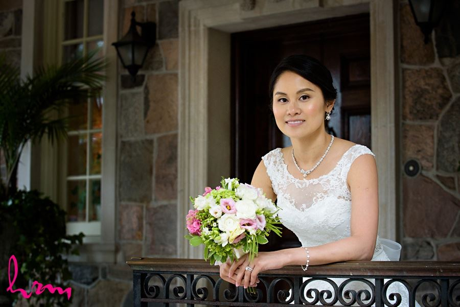Natalie at  Graydon Hall Manor Toronto ON Wedding Photography