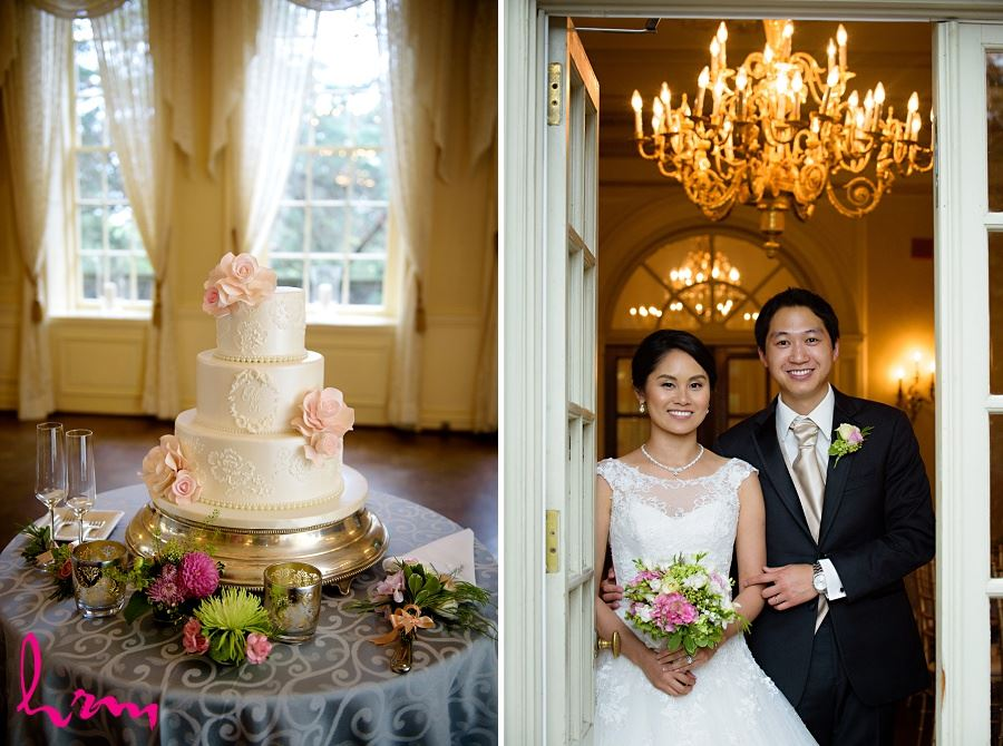 Cake at Graydon Hall Manor Toronto ON Wedding Photography