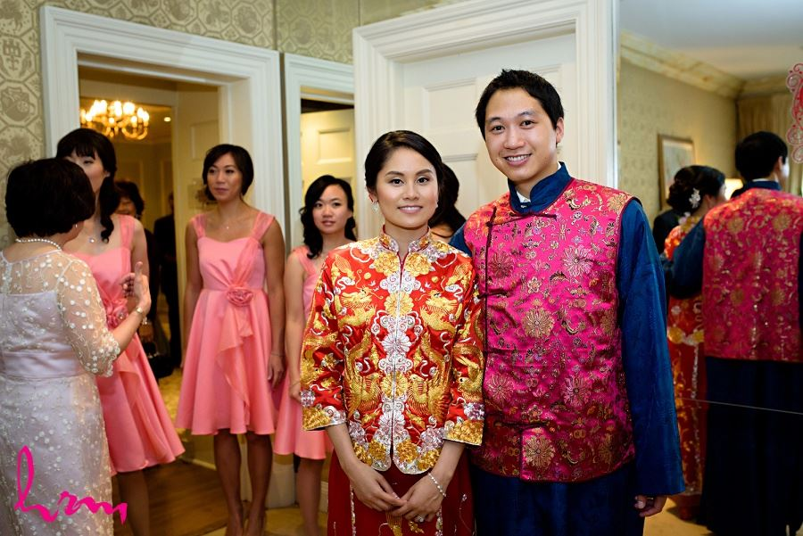 Traditional Chinese wedding ceremony Graydon Hall Manor Toronto ON Wedding Photography